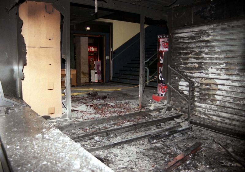 2001. Incendio en Multicines Centro