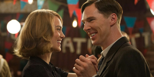 (L-R) KEIRA KNIGHTLEY and BENEDICT CUMBERBATCH star in THE IMITATION GAME